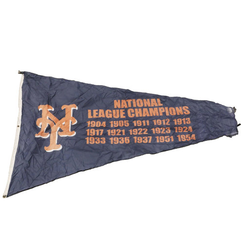 Photo of San Francisco Giants - Stadium Flag - New York Giants National League Champions
