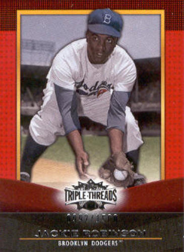Photo of 2011 Topps Triple Threads #38 Jackie Robinson
