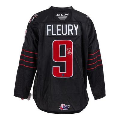 Theo Fleury Moose Jaw Warriors Autographed CHL Hockey Jersey