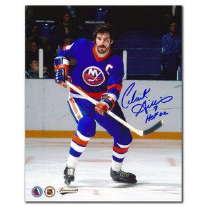 Clark Gillies New York Islanders CAPTAIN Autographed 8x10