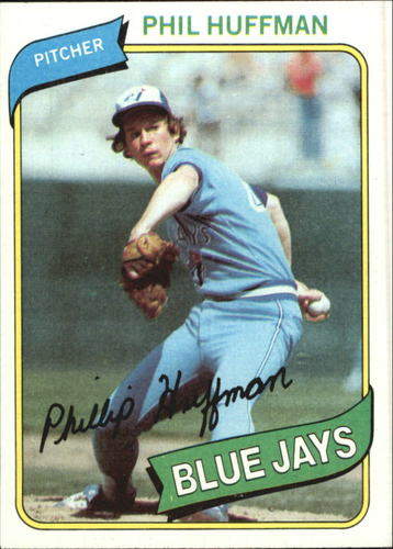 Photo of 1980 Topps #142 Phil Huffman RC