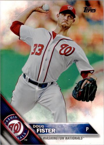 Photo of 2016 Topps #102 Doug Fister