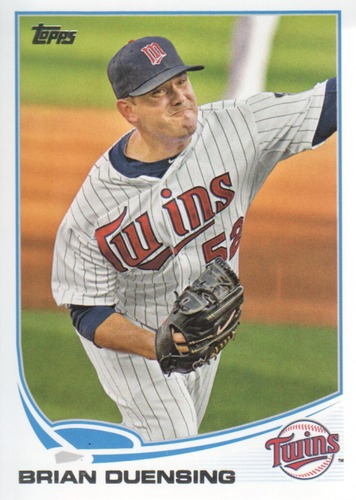 Photo of 2013 Topps #467 Brian Duensing
