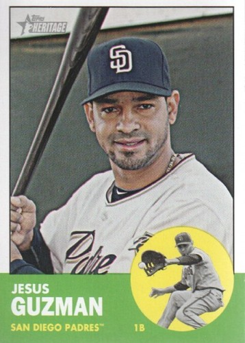 Photo of 2012 Topps Heritage #410 Jesus Guzman