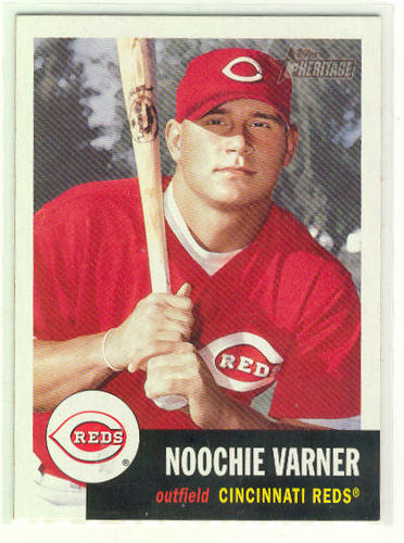 Photo of 2002 Topps Heritage #322 Noochie Varner RC