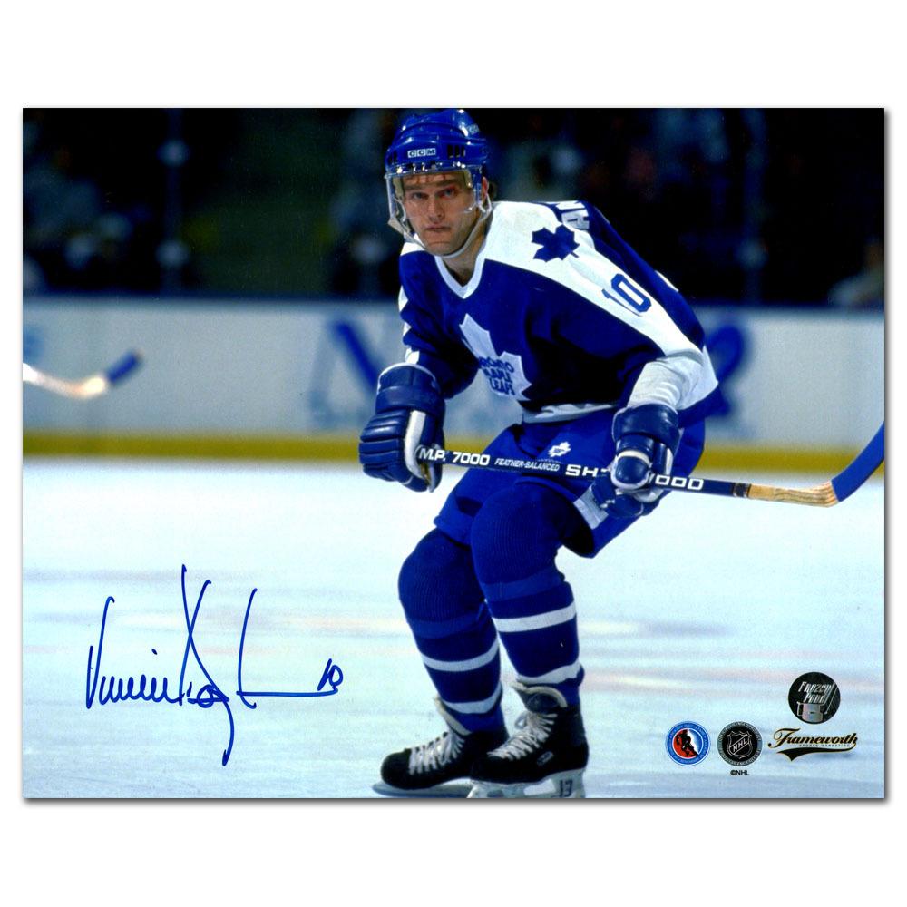 Vincent Damphousse Autographed Toronto Maple Leafs 8X10 Photo