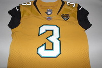 JAGUARS - BRAD NORTMAN GAME WORN JAGUARS COLOR RUSH JERSEY (OCTOBER 27 2016)