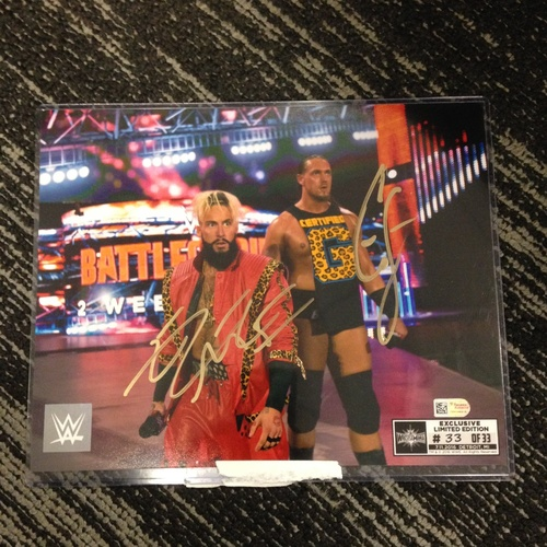 Photo of Enzo & Big Cass SIGNED 8 x 10 Limited Edition WrestleMania 33 Photo (#33 of 33)
