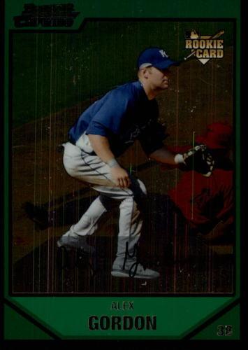 Photo of 2007 Bowman Chrome Draft #BDP15 Alex Gordon Rookie Card