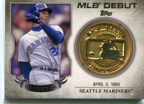 Photo of 2016 Topps MLB Debut Medallion Ken Griffey Jr.
