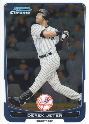 Photo of 2012 Bowman Chrome #10 Derek Jeter