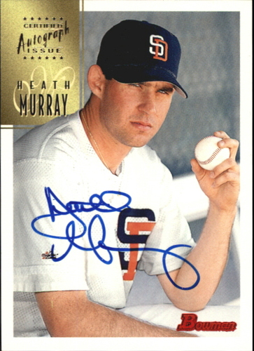 Photo of 1997 Bowman Certified Blue Ink Autographs #CA56 Heath Murray
