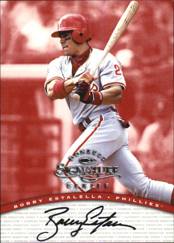 Photo of 1997 Donruss Signature Autographs #32 Bobby Estalella/3900