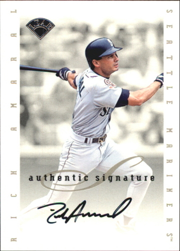 Photo of 1996 Leaf Signature Extended Autographs #3 Rich Amaral