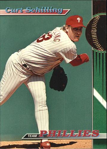 Photo of 1993 Phillies Stadium Club #14 Curt Schilling