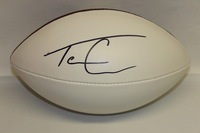 NFL - FALCONS TEVIN COLEMAN SIGNED PANEL BALL