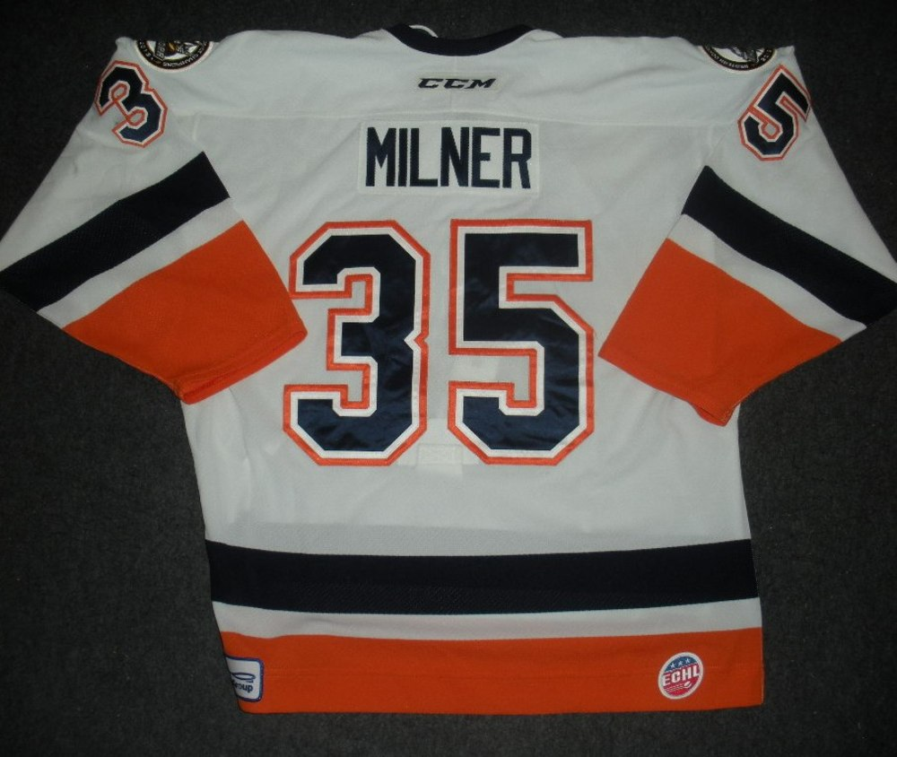 Parker Milner - Hockey Heritage Weekend - Stockton Thunder - Game-Worn Back-Up Only Jersey