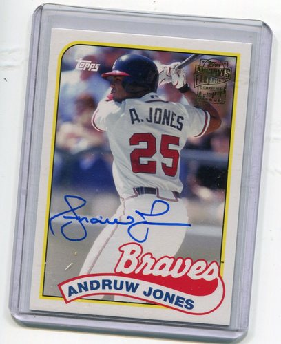 Photo of 2015 Topps Archives Fan Favorites Autographs #FFAAJ Andruw Jones