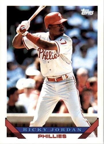 Photo of 1993 Topps #585 Ricky Jordan