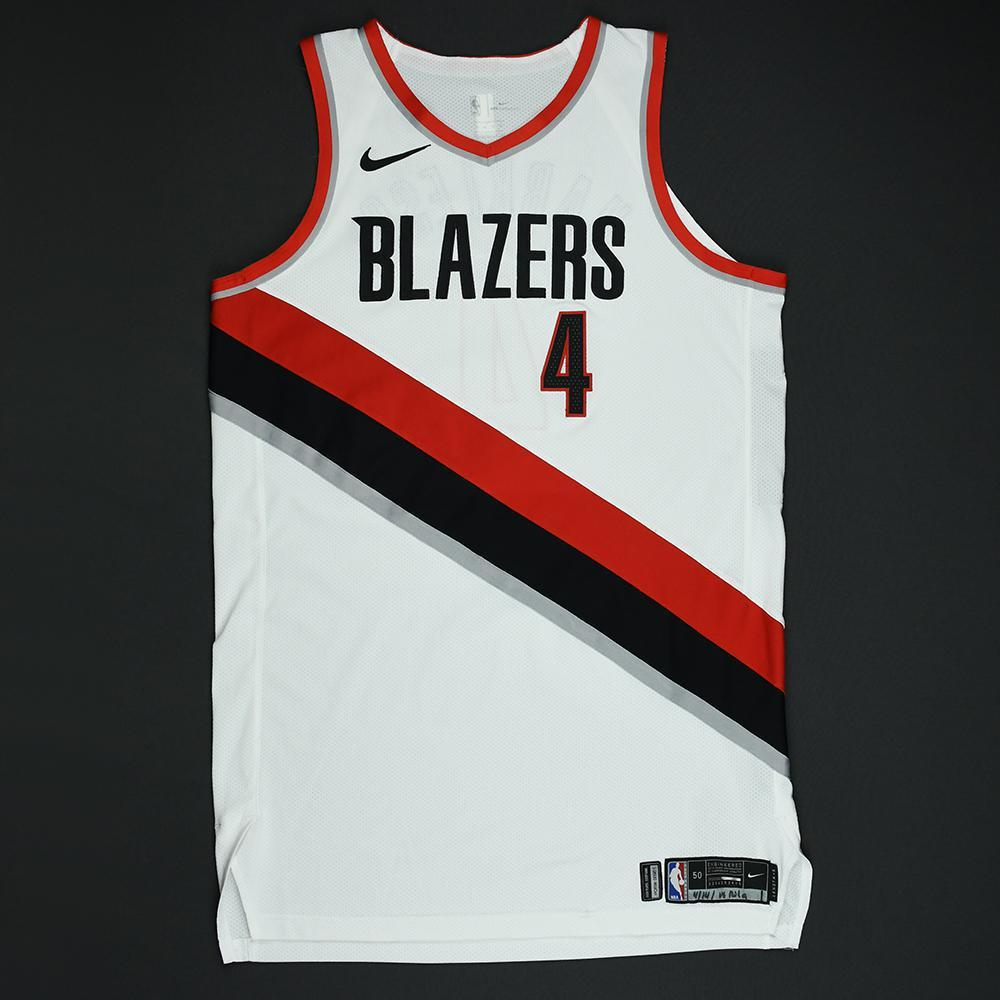 Maurice Harkless - Portland Trail Blazers - 2018 NBA Playoffs Game-Issued Jersey