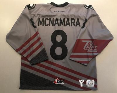 Matt Mcnamara (#8) - '93 Petes Alumni Jersey