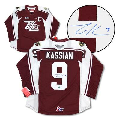 Zack Kassian Peterborough Petes Autographed CHL Hockey Jersey