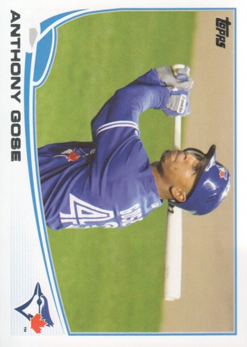 Photo of 2013 Topps #468 Anthony Gose