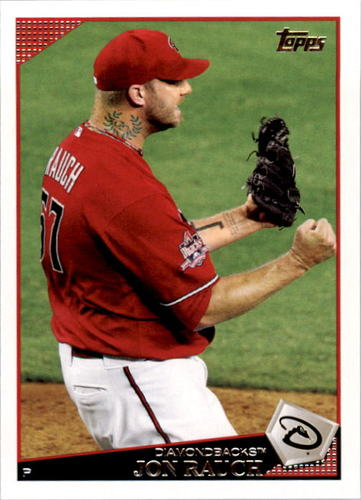 Photo of 2009 Topps #14 Jon Rauch