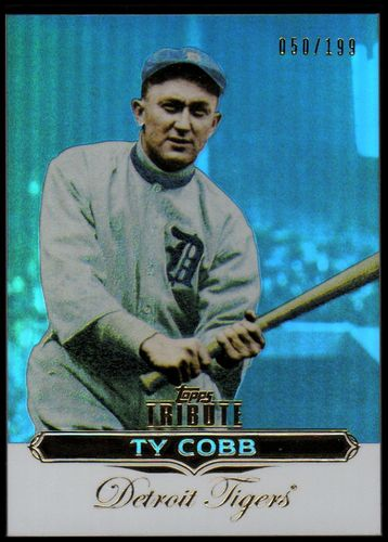 Photo of 2011 Topps Tribute Blue #96 Ty Cobb