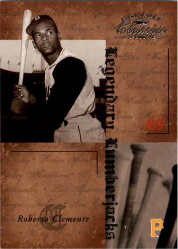 Photo of 2004 Donruss Classics Legendary Lumberjacks #21 Roberto Clemente