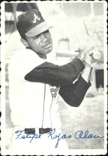 Photo of 1969 Topps Deckle Edge #17 Felipe Alou