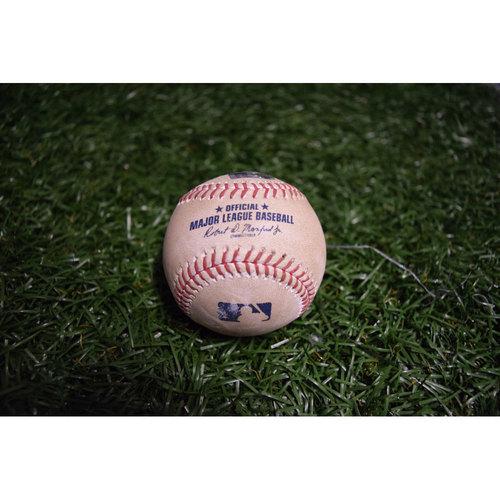 Photo of Game-Used Baseball: Mallex Smith Single off Chris Tillman