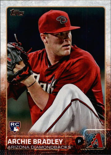 Photo of 2015 Topps #519A Archie Bradley Rookie Card -- D'backs post-season