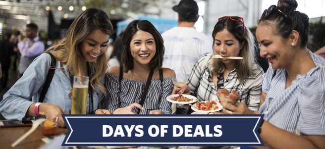 EAT DRINK SF + HOTEL ACCOMMODATIONS IN SAN FRANCISCO - PACKAGE 1 of 2