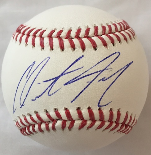 Photo of Clint Frazier Autographed Baseball