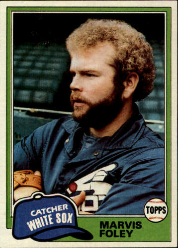 Photo of 1981 Topps #646 Marvis Foley RC