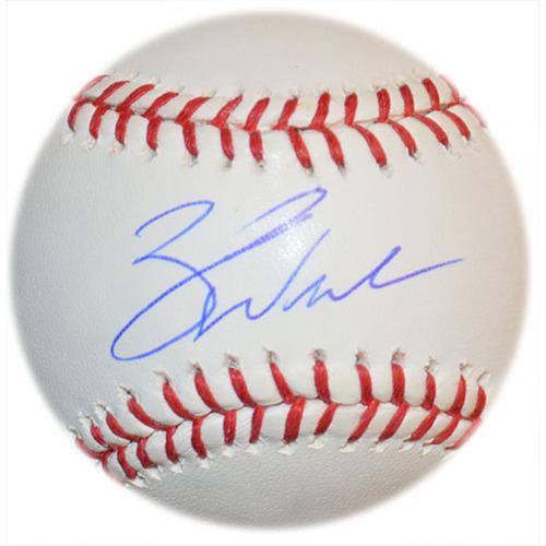 Zack Wheeler - Autographed Major League Baseball