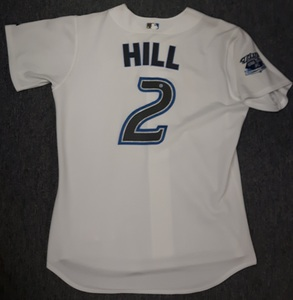 Toronto Blue Jays Authenticated Team Issued 2006 Jersey - #2 Aaron Hill