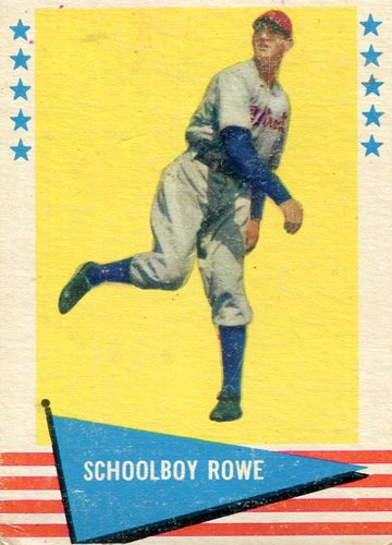 Photo of 1961 Fleer #73 Schoolboy Rowe