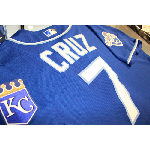 Photo of Tony Cruz Game-Used Jersey (9/24/16 KC at DET) (Size 46)