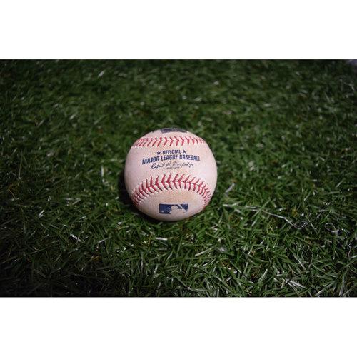 Photo of Game-Used Baseball: Jesus Sucre Single off Brad Brach