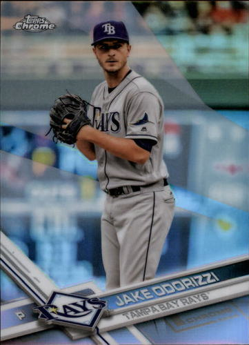 Photo of 2017 Topps Chrome Refractors #167 Jake Odorizzi
