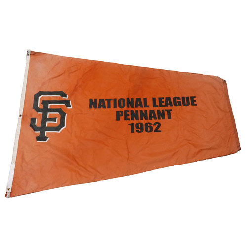 Photo of San Francisco Giants - Stadium Flag - 1962 National League Pennant