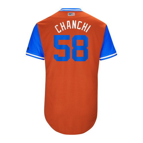 "Photo of Francis ""Chanchi"" Martes Houston Astros Game-Used Players Weekend Jersey"
