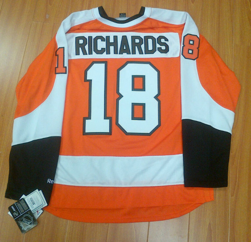 MIKE RICHARDS Philadelphia Flyers Reebok Premier Hockey Jersey *Size L*