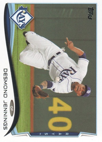 Photo of 2014 Topps #582 Desmond Jennings