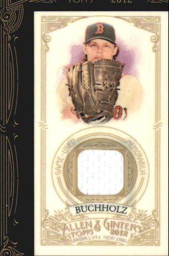 Photo of 2012 Topps Allen and Ginter Relics #CB Clay Buchholz