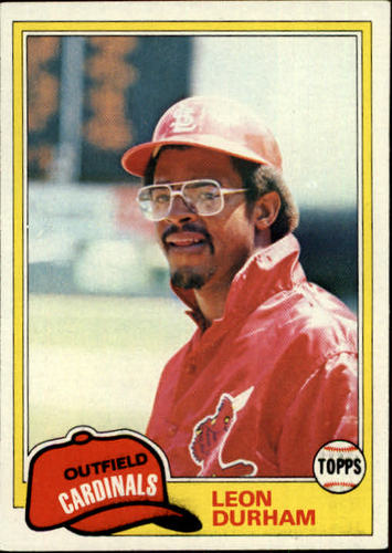 Photo of 1981 Topps #321 Leon Durham RC