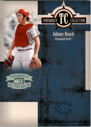 Photo of 2005 Throwback Threads Throwback Collection Spectrum #73 Johnny Bench