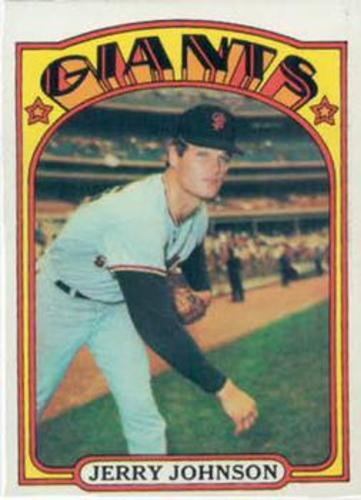Photo of 1972 Topps #35 Jerry Johnson